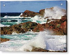 Cape Bonavista, Newfoundland Acrylic Print