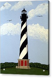 Cape Hatteras Lighthouse Acrylic Print by Frederic Kohli