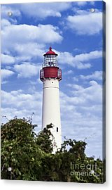 Cape May Lighthouse Acrylic Print by John Greim