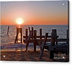 Cape May Sunset Acrylic Print
