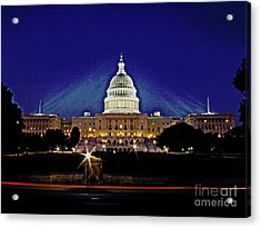 Capitol Brights Acrylic Print