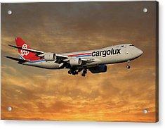 Cargolux Boeing 747-8r7 2 Acrylic Print