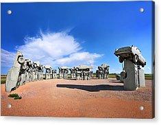 Carhenge Acrylic Print