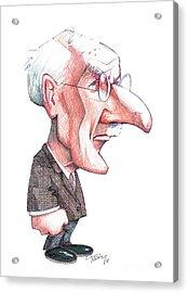 Carl Jung, Caricature Acrylic Print