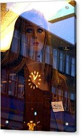 Caroline Acrylic Print by Jez C Self