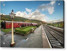 Carrog Railway Station Acrylic Print