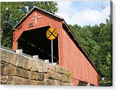 Carrollton Covered Bridge Acrylic Print