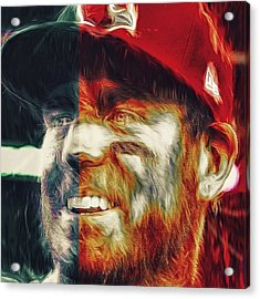 @carsonpalmer3 #carsonpalmer #cardinals Acrylic Print
