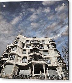 Casa Mila - Barcelona Acrylic Print by Rod McLean