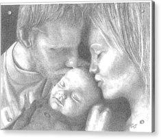 Cassiday Family 1  Acrylic Print by Rhonda  Rodericks