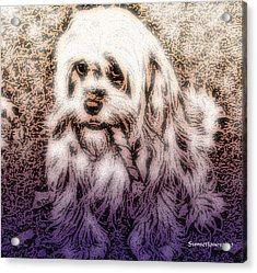 Cassie Girl Acrylic Print by Robert Orinski