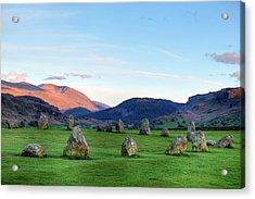 Castlerigg - Lake District Acrylic Print