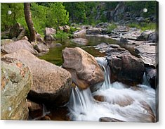 Acrylic Print featuring the photograph Castor River Shut-ins by Steve Stuller