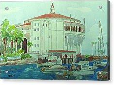 Catalina Island Acrylic Print by Azor Martinez