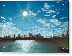 Catch And Release Acrylic Print by Jackie Novak