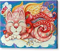 Catzanova Valentino Acrylic Print
