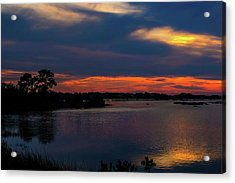 Acrylic Print featuring the photograph Ceader Key Florida  by Louis Ferreira
