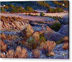 Cebada Canyon Blues Acrylic Print