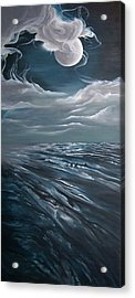 Changing Tide Acrylic Print by Kathleen Romana
