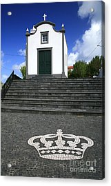 Chapel In The Azores Acrylic Print by Gaspar Avila