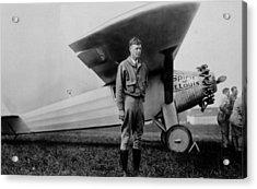 Charles Lindbergh 1902-1974 Acrylic Print by Everett