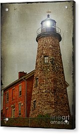 Charlotte Genesee Lighthouse Acrylic Print by Joel Witmeyer