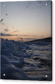 Chasing Dusk Acrylic Print by Mira Cooke