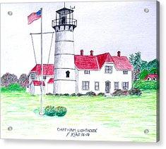 Chatham Lighthouse  Acrylic Print by Frederic Kohli