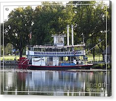 Chautauqua Belle On Lake Chautauqua Acrylic Print