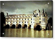 Chenonceau Castle Acrylic Print
