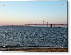 Chesapeake Bay Bridge - Maryland Acrylic Print