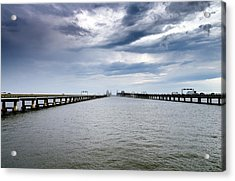 Chesapeake Bay Bridge Maryland Acrylic Print
