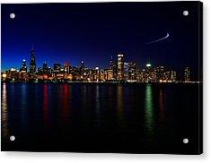Chicago-skyline 3 Acrylic Print