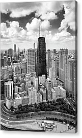 Acrylic Print featuring the photograph Chicago's Gold Coast by Adam Romanowicz