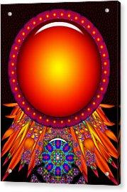 Acrylic Print featuring the digital art Children Of The Sun by Robert Orinski
