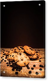Choc Chip Biscuits Acrylic Print by Jorgo Photography - Wall Art Gallery