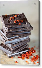 Chocolate And Chili Acrylic Print