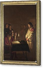 Christ Before The High Priest Acrylic Print