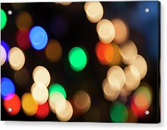 Acrylic Print featuring the photograph Christmas Lights by Susan Stone