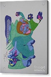 Christy's Jester Acrylic Print by James SheppardIII