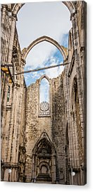 Church At Carmo Convent Acrylic Print