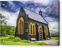 Acrylic Print featuring the photograph Church by Charuhas Images