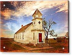 Church On The Plains Acrylic Print