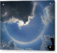 Circular Rainbow Acrylic Print