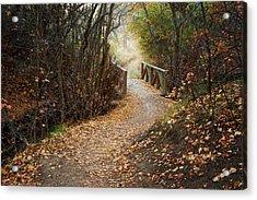 City Creek Bridge Acrylic Print