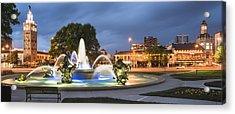 City Of Fountains Acrylic Print