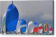 City Spinnakers Acrylic Print