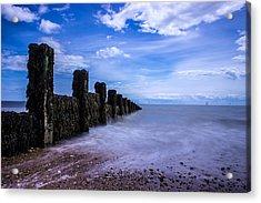 Clacton Beach Acrylic Print