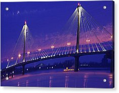 Clark Bridge Sunrise Acrylic Print