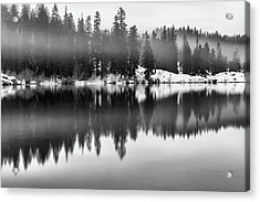 Acrylic Print featuring the photograph Clear Lake by Cat Connor